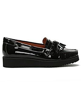 DF By Daniel Spinney Patent Loafers