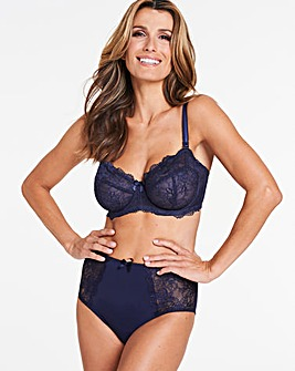 Pretty Secrets Ella Lace Navy Multiway Bra