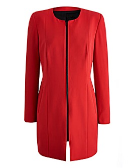 Joanna Hope Longline Zip Jacket