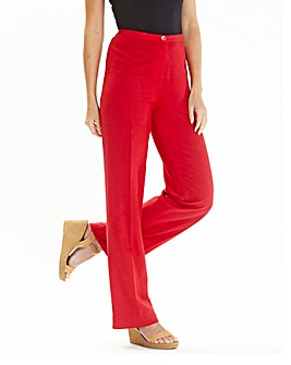 78430a4fda94 JOANNA HOPE Linen Blend Trousers 27in