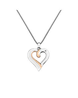 Hot Diamonds Elegant Heart Pendant