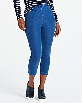 Pull-On Crop Jeggings
