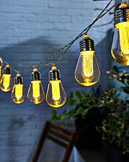Edison Style Bulb String Lights