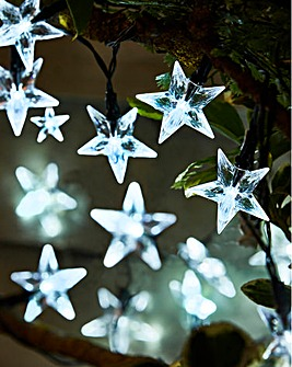Stars 50 Superbright Solar String Lights