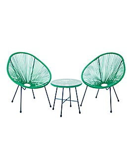 Salsa Bistro Set Forest Green