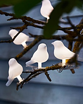 Solar Birds String Lights