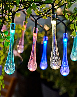 Waterdrop Solar String Light Set of 20