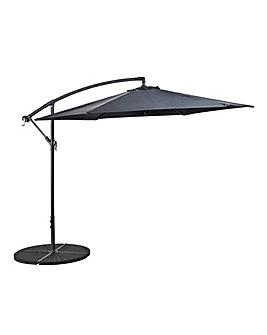 Elton 3m Cantilever Parasol Grey
