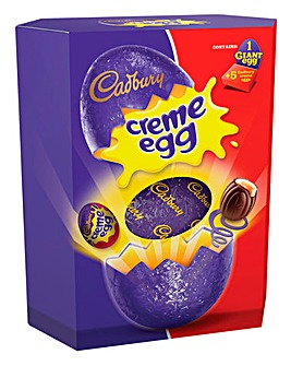 Creme Egg Giant Egg & 5 Creme Eggs