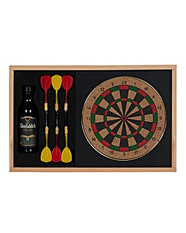 Mini Glenfiddich Malt & Dart Board