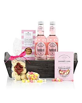 The Pink Gin & Treats Hamper