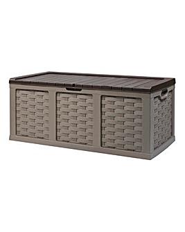 XXL Rattan Style Storage Box - 634 Litre