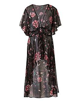 Tie Front Kimono