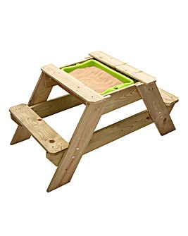 TP Early Fun Wooden Picnic Table Sandpit