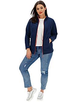 Navy Fleece Jacket