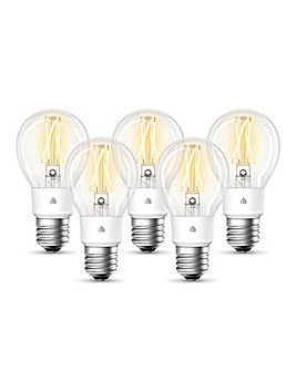 TP-Link KL50 WiFi Light Bulb - 5 Pack