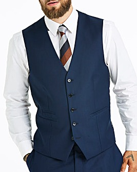 Skopes Royal Blue Kennedy Suit Waistcoat