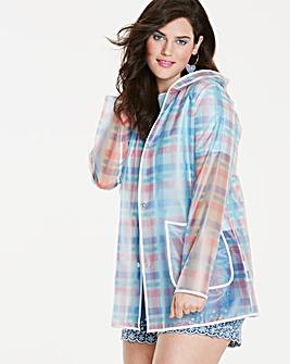 Printed Transparent Rain Jacket