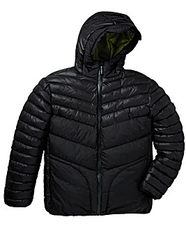 Foray Nickel Chevron Quilted Jacket