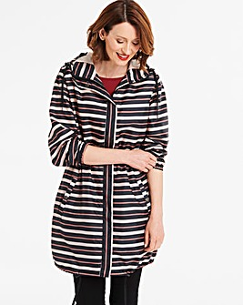Stripe Pac A Mac Parka