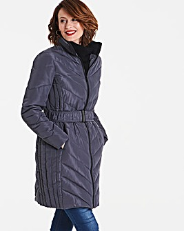 Chevron Padded Coat