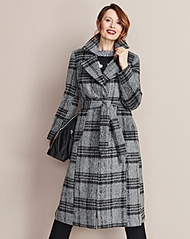 Wool Fit and Flare Coat