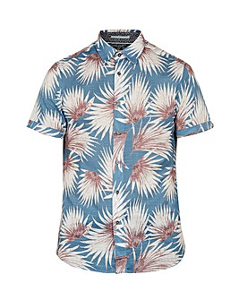 Ted Baker Tall Palm Print Shirt