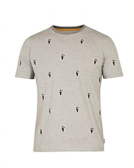 Ted Baker Tall Toucan Stripe T-Shirt