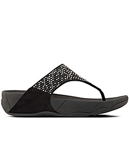 FitFlop(TM) Lulu Pop Stud Wedge Sandals