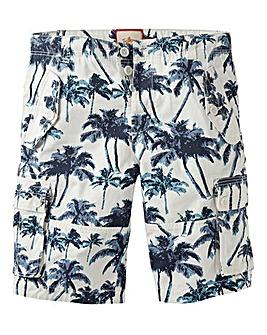 Joe Browns Palm Print Cargo Short