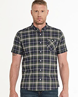Green Check Oxford Shirt Long