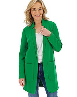 Green Crepe Jacket