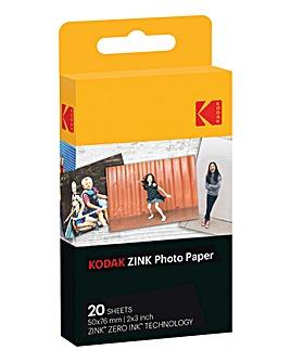 Kodak 2 x 3 20 Pack Zink Paper