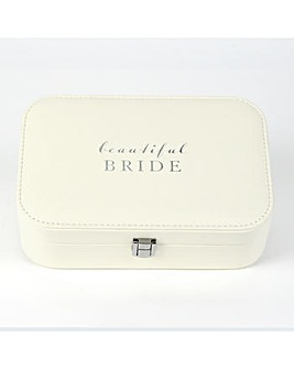 Beautiful Bride Jewellery Box