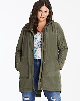 Memory Padded Water Resistant Parka