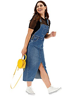 Maxi Dungaree Dress