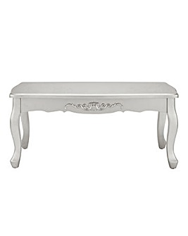 Joe Browns Silver Metallic Coffee Table