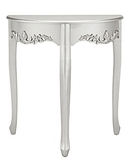 Joe Browns Silver Metallic Console Table