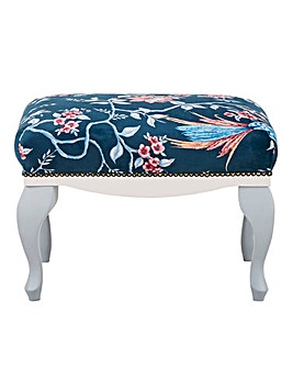 Joe Browns French Blossom Footstool