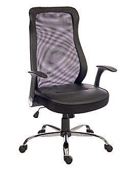 Spencer Curved Mesh Executive Chair