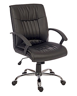 Harold Faux Leather Executive Armchair
