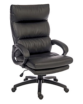 Merlin Faux Leather Executive Chair