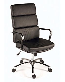 Edith Faux Leather Executive Armchair