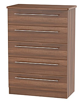 Lulworth Assembled 5 Drawer Chest