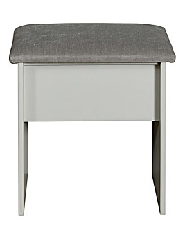 Lulworth Assembled Dressing Table Stool