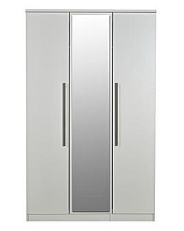 Lulworth 3 Door Mirrored Wardrobe