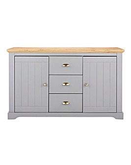 Hampton 2 Door 3 Drawer Sideboard