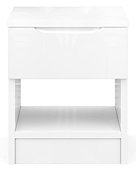 Sorrento Ready Assembled High Gloss Side Table