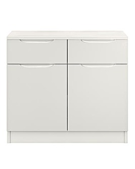 Sorrento Ready Assembled High Gloss Small Sideboard