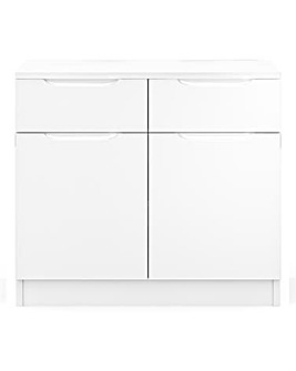 Sorrento Assembled Gloss Small Sideboard